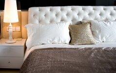Patarimai, kaip dekoruoti nedidelius miegamuosius