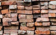 7 būdai, kaip panaudoti senas ir nereikalingas plytas