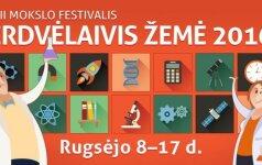 Mokslo festivalis Erdvėlaivis Žemė