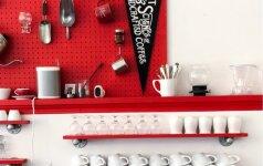 5 būdai, kaip panaudoti perforuotą sienelę
