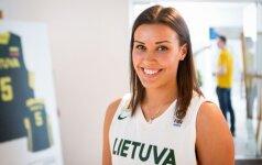 Kontroliniame mače Turkijos krepšinio klubui K. Nacickaitė pelnė 19 taškų