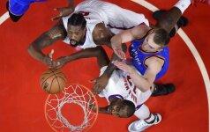 """D. Sabonis žaidė rezultatyviai, bet """"Thunder"""" krito prieš """"Clippers"""""""