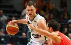 A.Eitutavičius Čekijoje pelnė 18 taškų, M.Lukauskis Italijos antroje lygoje - nerezultatyvus