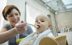 Patarimai tėvams, kurie pradeda primaitinti kūdikį