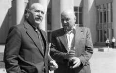 Algirdas Julius Greimas ir Juozas Baltušis (1979)
