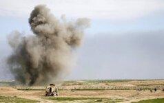Irake kelyje netoli sostinės – pražūtingas sprogimas