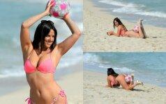 Seksualūs C. Romani žaidimai: paplūdimys virto futbolo aikštele