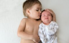 Kaip vaiką paruošti brolio arba sesės gimimui