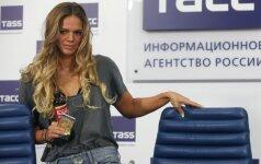 J. Jefimova reikalaus kompensacijos už moralinę skriaudą dėl dopingo skandalo