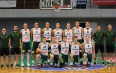 Paaiškėjo galutinis Lietuvos jaunių krepšinio rinktinės dvyliktukas