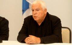 Kviesti Lietuvos sirgalių atvykę Izraelio pasiuntiniai viliojo ir Š. Jasikevičių
