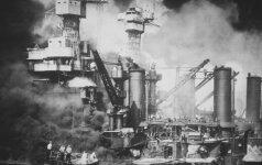 Prieš 75 metus įvykdyta Japonijos ataka Perl Harbore įtraukė JAV į Antrąjį pasaulinį karą