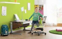 Į ką atkreipti dėmesį renkant baldus vaikams