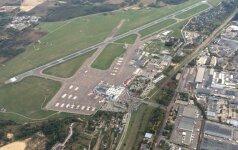 Vilniaus oro uoste vėlavo skrydis į Birmingemą