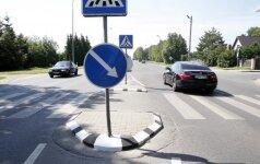Technikumo ir Veiverių gatvių sankryža