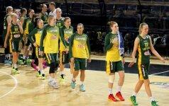 Europos moterų krepšinio čempionate Lietuva sutriuškino Kroatiją