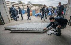 Naujas Laisvės alėjos grindinys