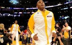 """Vilčių teikiantis """"Lakers"""" sezonas: K. Bryantas pasirengęs demonstruoti aukščiausio lygio krepšinį?"""
