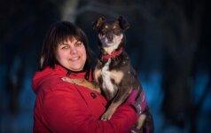 Prekybos centre rasta Pepė - šunų vikrumo sporto žvaigždė
