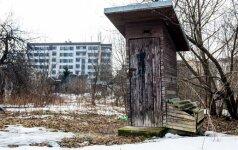 Nurodymas Lietuvai: lauko tualetų turi nelikti