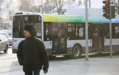 Savivaldybė spręs dėl papildomų autobusų pirkimo Vilniaus mieste