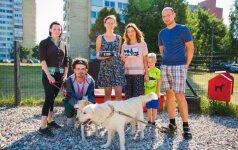Atnaujinta gyvūnų aikštelė padėjo suburti Žirmūnų bendruomenę