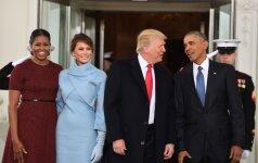 D. Trumpas taps 45-uoju JAV prezidentu: prasideda oficialūs renginiai