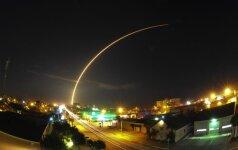 SpaceX raketos startas