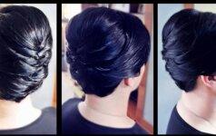 Šukuosena trumpaplaukėms per 5 minutes! Stilistės Gražinos pamokėlė VIDEO