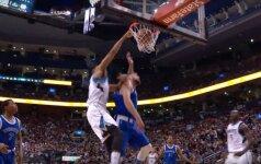 Galingas dėjimas per J. Valančiūną – NBA nakties TOP-10 viršūnėje