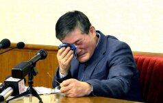 Š. Korėjos rūstybės sulaukė dar vienas šnipas