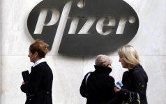"""Pfizer"" JK skirta rekordinė bauda už per didelę vaistų kainą"