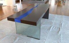 Darau pats: nepaprastas stalas