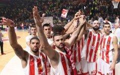 """""""Crvena Zvezda"""" netikėtai nukovė galingą """"Barceloną"""", """"Olympiacos"""" džiaugėsi antra pergale"""