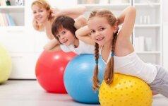 Sieks didinti šalies vaikų fizinį aktyvumą