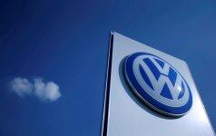 """""""Volkswagen"""" vadovai priversti grąžinti pinigus už skrydžius privačiais lėktuvais"""