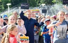 D. Grybauskaitės iniciatyva šimtams vaikų dovanojo pirmąjį pasimatymą su jūra
