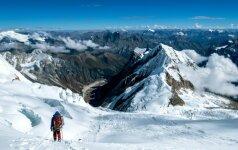 Į vieną pavojingiausių pasaulio viršūnių įkopęs S. Damulevičius: nuolat kovojau su savimi