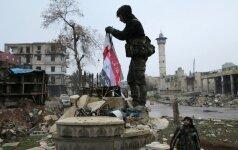 JT komisija: Sirijos režimas ir sukilėliai padarė karo nusikaltimų per mūšį dėl Alepo