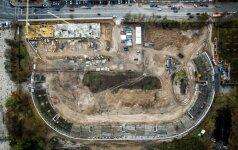 """Vilniaus valdžia ketina atsisakyti reikalavimo """"Hanner"""" plėtojamame sklype statyti stadioną"""