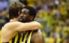 Naudingiausias Eurolygos finalo krepšininkas tikisi, kad juodaodžiai nežais Lietuvoje