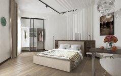 Kaip turi atrodyti modernus, patogus ir inovatyvus viešbučio kambarys