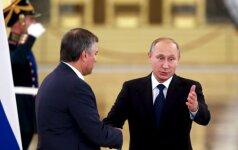 Politinė atranka prasidėjo: V. Putinas ieško sau įpėdinio