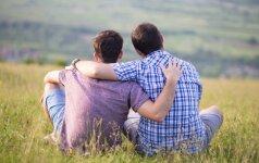 Paklausė valstybės vadovų: ar pritariate homoseksualų partnerystei?