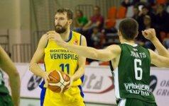 Latvijos krepšinio čempionate geriausiai sekėsi E. Želioniui