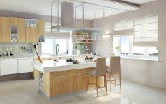 Modernus dizainas mažoje virtuvėje: ką reikia žinoti?