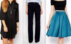 Stiliaus patarimai: ką dėvėti moteriai, kurios platūs klubai FOTO