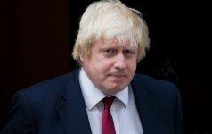 Didžiosios Britanijos užsienio reikalų ministras lankosi Turkijoje