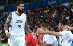 Serbai prarado svarbų aukštaūgį ir vis dar laukia M. Teodosičiaus