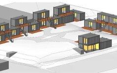 Neturintiems namų – naujas projektas